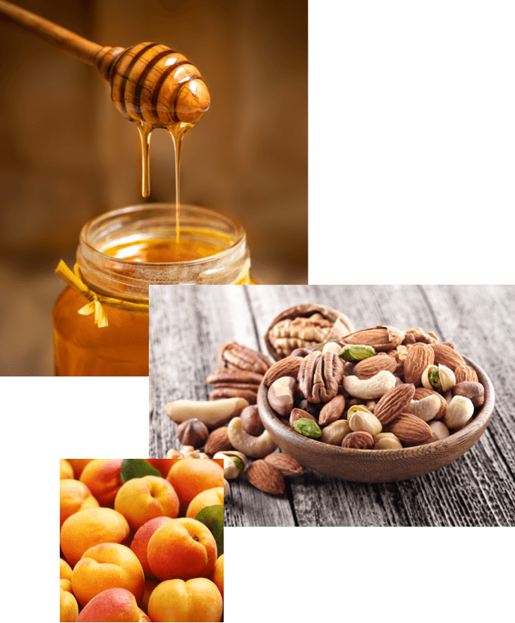 Instabar | Superfood | Nuts | Fruits | Honey